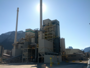 Calcining Plant in Canmore AB