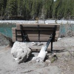 elbow river picnic table